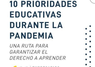 10 Prioridades educativas durante la pandemia