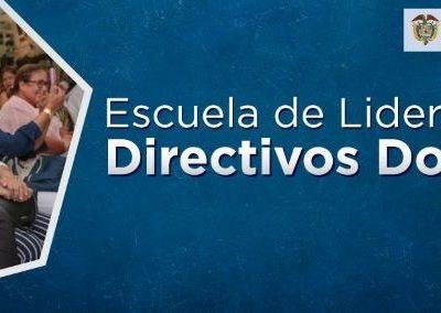 El Ministerio de Educación Nacional presenta la Escuela de Liderazgo para Directivos Docentes