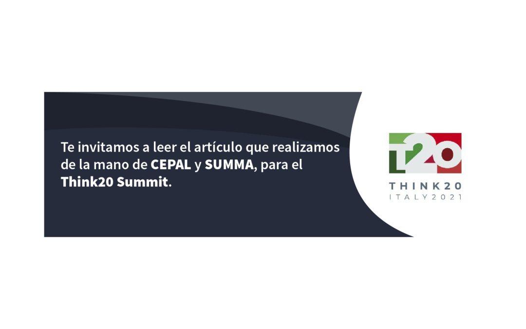 Las recomendaciones que envían tres organizaciones de América Latina para La Cumbre Think20 (T20)